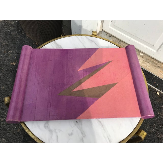 Paper Lacquered Papier-Maché Tray For Sale - Image 7 of 7