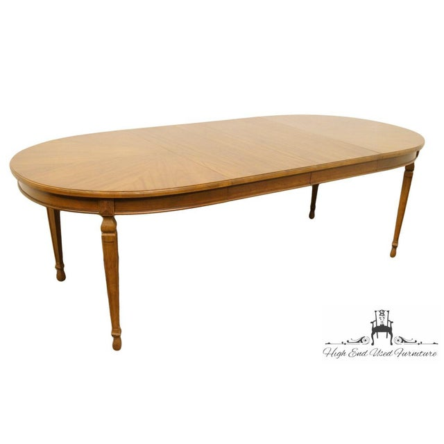 "20th Century Traditional Drexel Ponte Vecchi Collection 92"" Dining Table For Sale In Kansas City - Image 6 of 11"