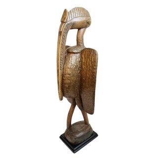 Senufo Prosperity Bird Statue For Sale