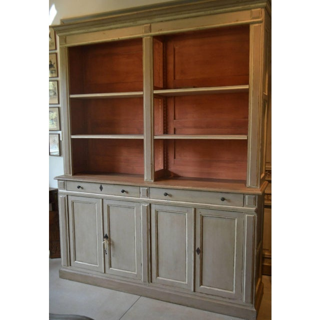 Directoire Style painted Bibliotehque; France, circa 1830.