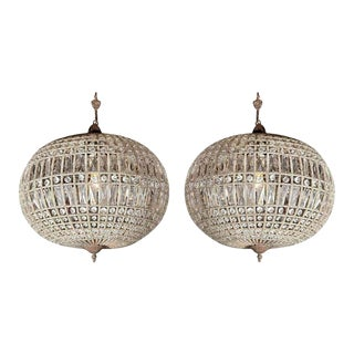 Globe Pendant Chandeliers For Sale
