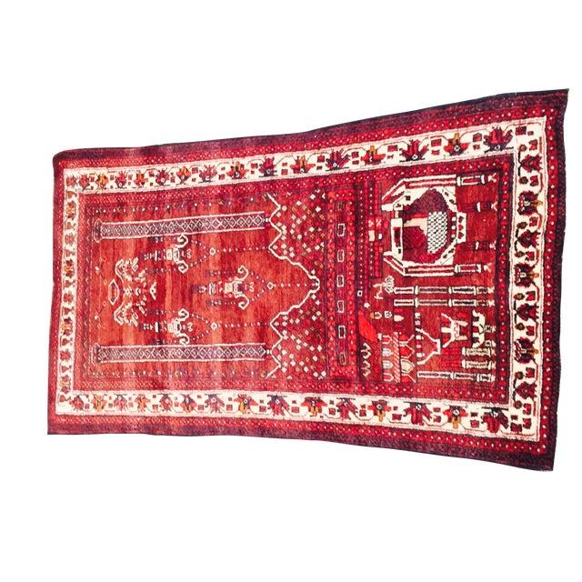 Baluchi Persian Handmade Rug - 2′6″ × 4′6″ - Image 1 of 9