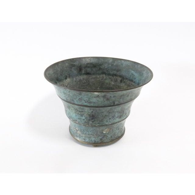 Vintage Italian Bronze Vase - Image 2 of 7