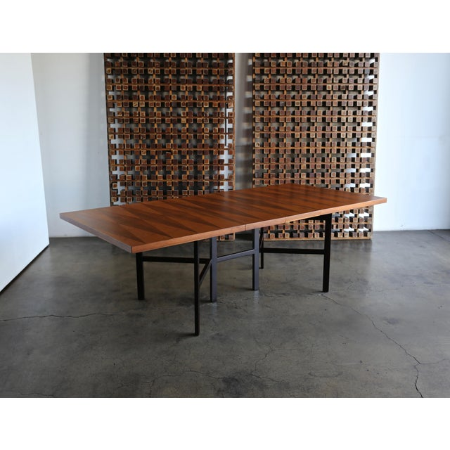 1960s Mid-Century Modern Milo Baughman Dining Table for Directional Furniture For Sale - Image 11 of 13