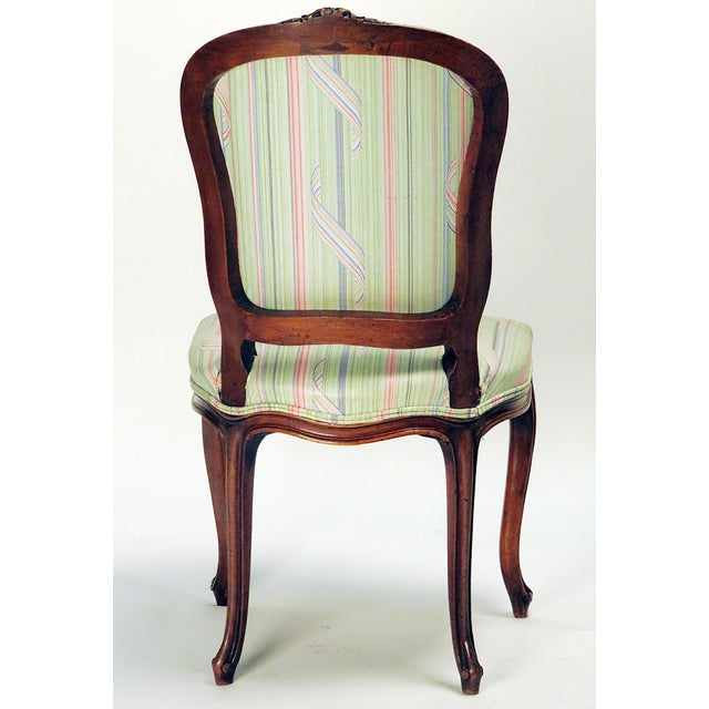 French Mid 19th Century French Country Side Chair For Sale - Image 3 of 3