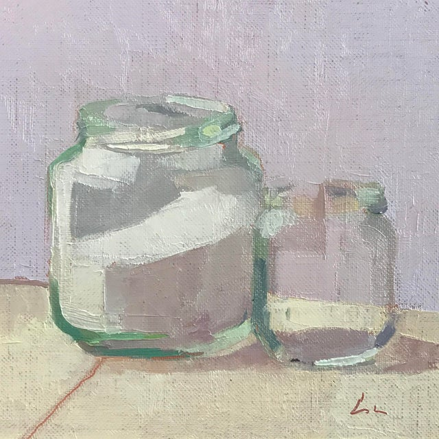 """""""The Last Two Jars"""" Oil Painting on Linen - Image 1 of 3"""