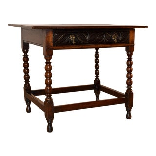 18th Century English Side Table For Sale