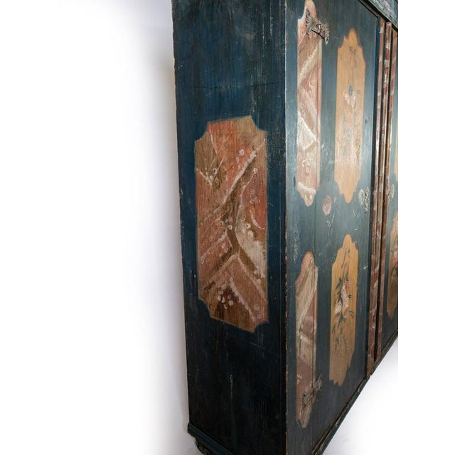Mid 19th Century Bohemian Armoire - a Single For Sale - Image 5 of 12