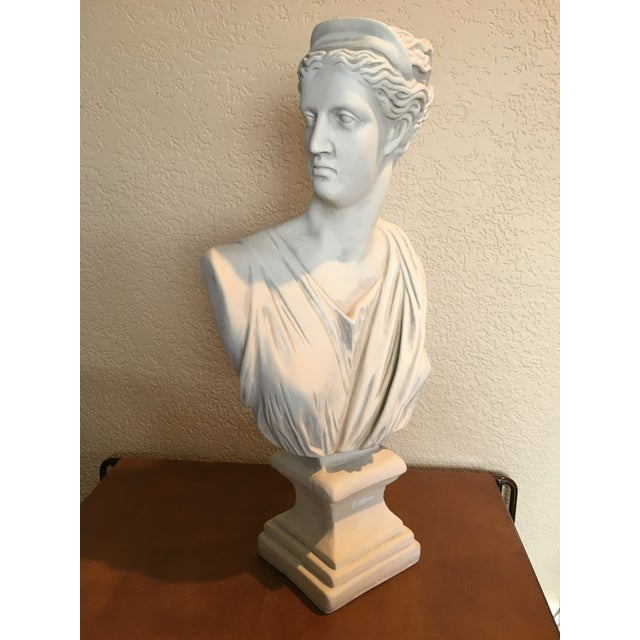 This almost two-foot tall depiction of Diana, Goddess of the Hunt, is sure to please any lover of classical and Roman...
