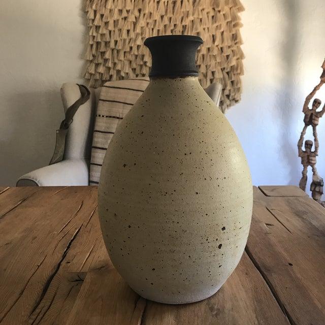 Vintage Large Studio Pottery Vase With Maker's Mark Stamp - Image 4 of 8