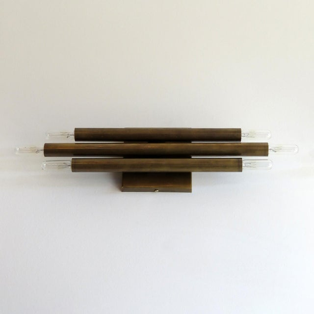 Contemporary 'Trinus' Wall Lights by Gallery L7 - a Pair For Sale - Image 3 of 11