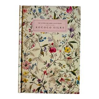 1980s Victoria and Albert Museum Rococo Silks Book For Sale