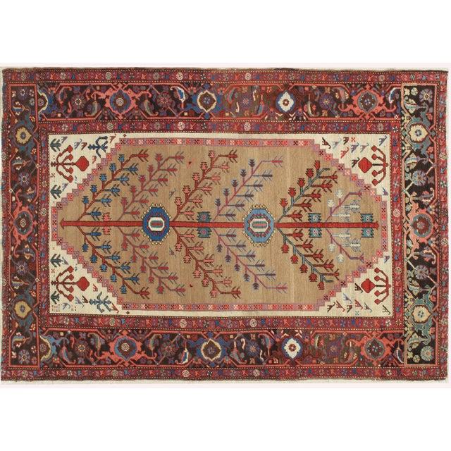 """Antique Serapi Bakhshayesh Rug-4'6x6'6"""" For Sale - Image 12 of 12"""