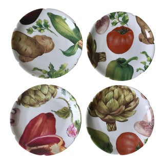 4 Limoges Vegetable Dishes-Rochard