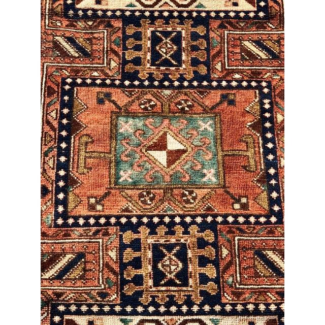 "Boho Chic Vintage Persian Karajeh Runner Rug - 2'8""x9'7"" For Sale - Image 3 of 13"