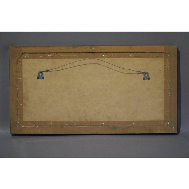 18th Century Framed Kalamkari Textile, Moghul Empire For Sale - Image 5 of 6