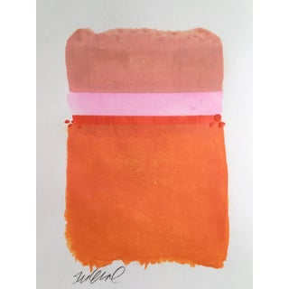 """Pink Belt Two"" Original Mixed Media Painting"
