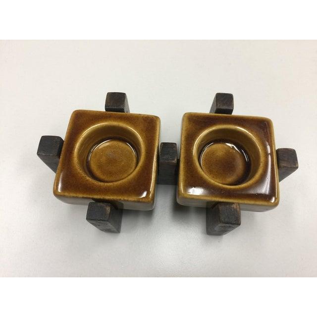 Blakeney Ceramic Gold Candleholder - Image 3 of 4