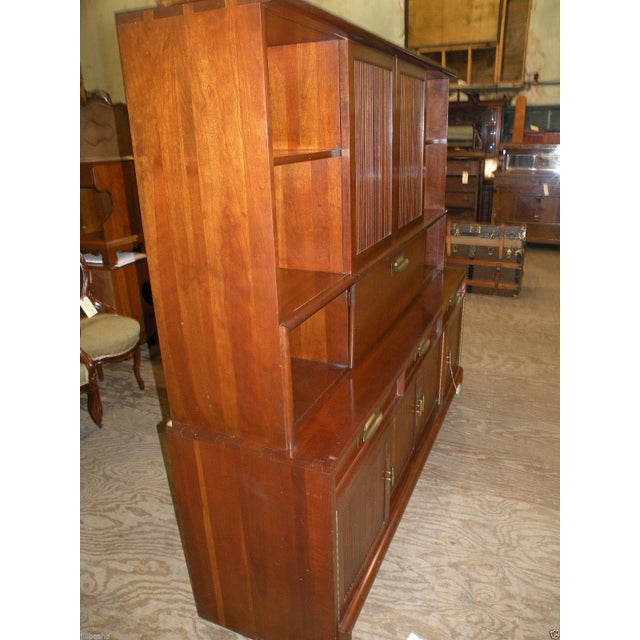 Willett Trans East Mid Century Bookcase Cabinet - Image 3 of 7