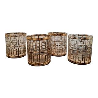 Imperial Shoji Glasses, Set of 4 For Sale
