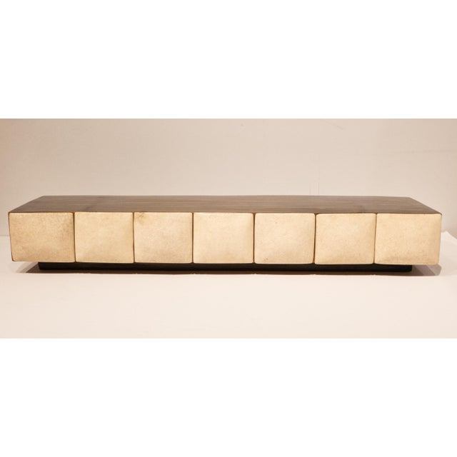 Mid-Century Modern R & Y Augousti Jewelry Box with Shagreen Fronts For Sale - Image 3 of 9