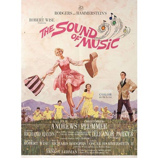 The Sound of Music 1965 U.S. One Sheet Film Poster For Sale