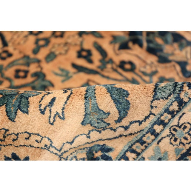 Antique Persian Kerman Oversized Vase Design Carpet - 13′6″ × 25′5″ For Sale - Image 4 of 13