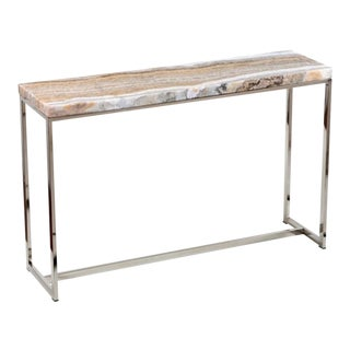 Interlude Home Cascade Onyx Console For Sale