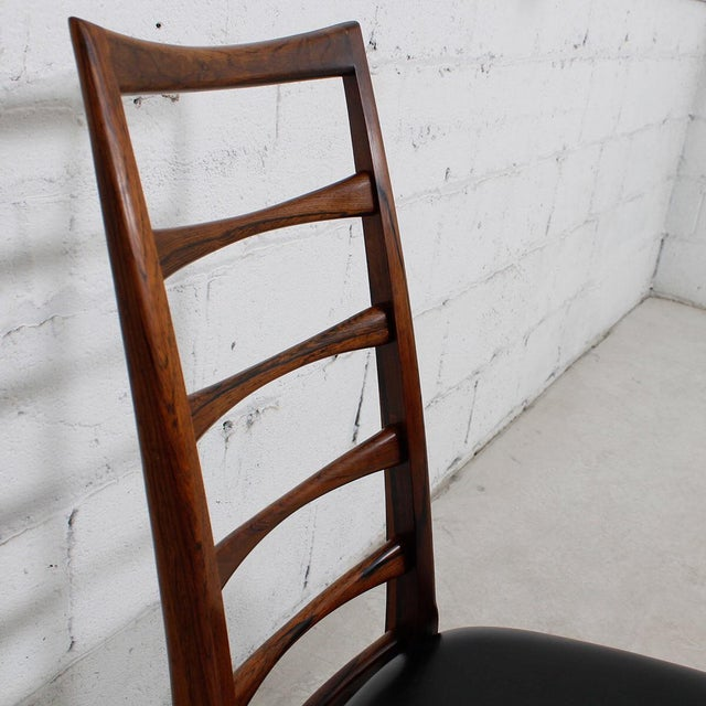 Koefoed Hornslet Danish Modern Rosewood Dining Chairs - Set of 6 For Sale - Image 10 of 10