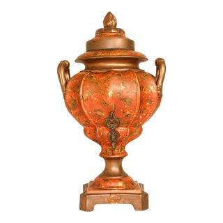 Porcelain Samovar, Tea or Coffee Urn Handmade in Italy For Sale