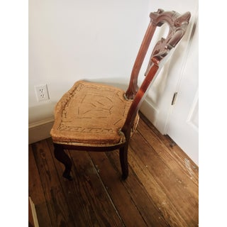 Late 19th Century Vintage Deconstructed Victorian Renaissance Revival Walnut Side Chair Preview