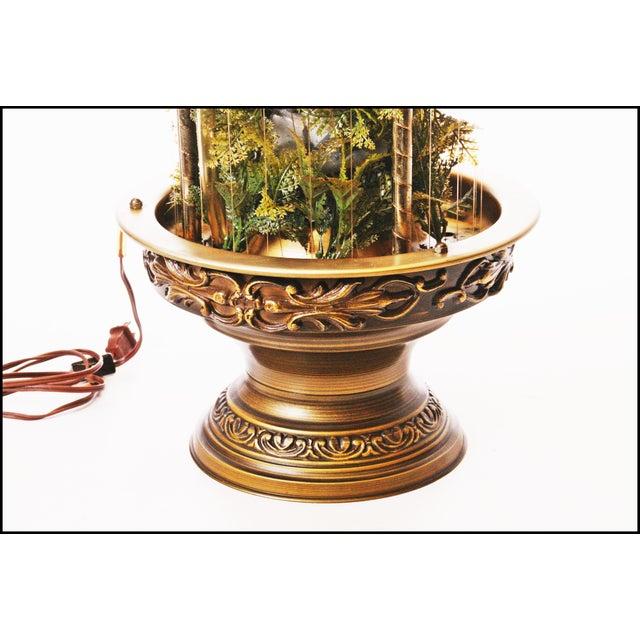 Mid Century Hollywood Regency Mineral Oil Rain Lamp - Image 9 of 11