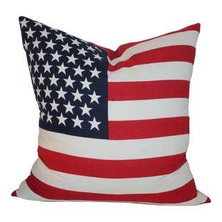 American Flag Pillow 48 Star Flag For Sale