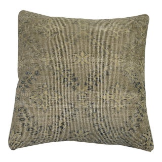 Gray Shabby Chic Turkish Rug Pillow