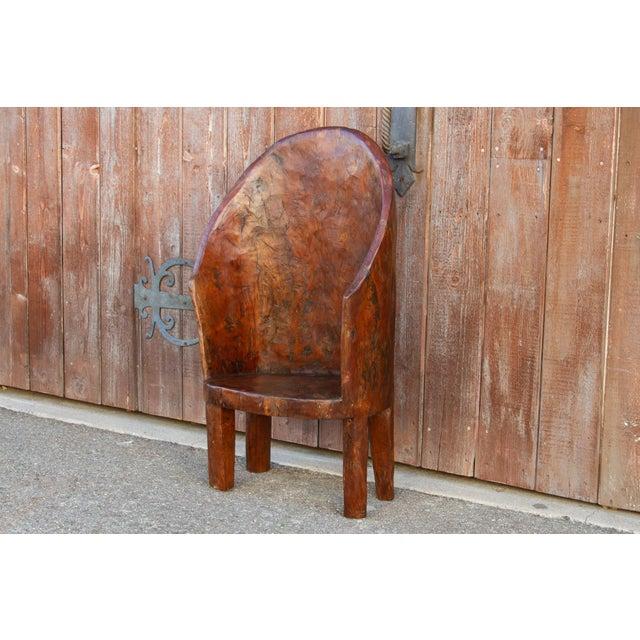 Chunky Tribal Naga Chair For Sale - Image 4 of 10