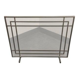 Crate & Barrel Fireplace Screen