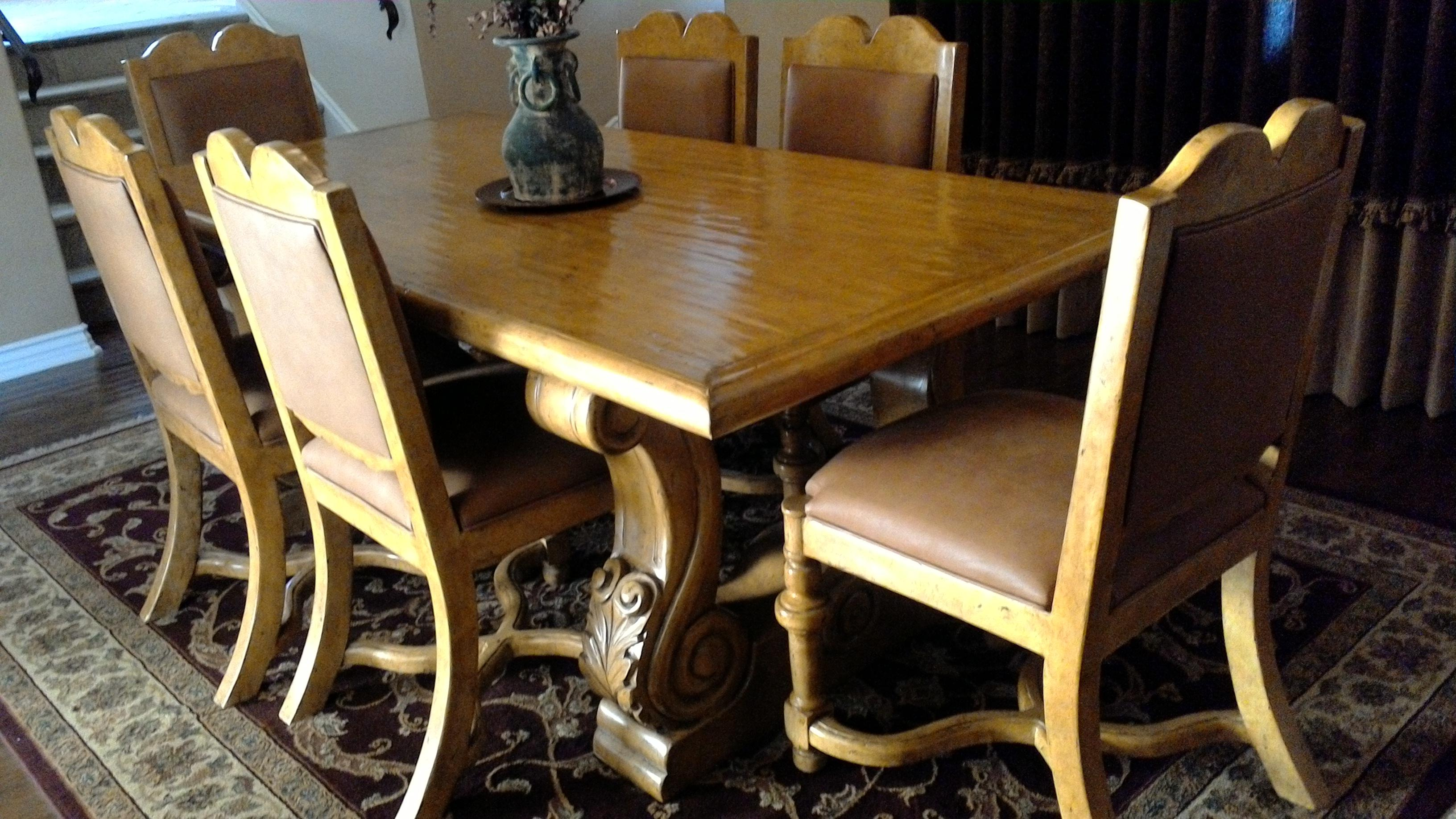 Merveilleux Arte De Mexico Furniture #8   Arte De Mexico Custom Dining Room Set   Image  9 Of 11
