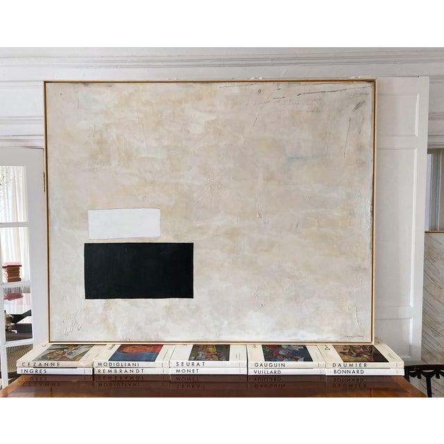"Josh Young Design House ""Place De La Bastille"" Painting. Framed. For Sale - Image 10 of 10"