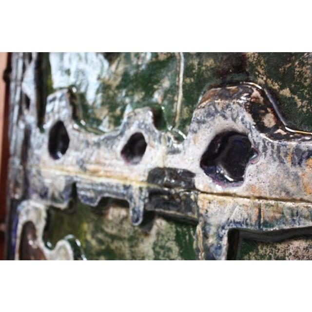 Monumental Mounted Polychrome Stoneware Panels by Mario Ferreira Da Silva - Image 8 of 10