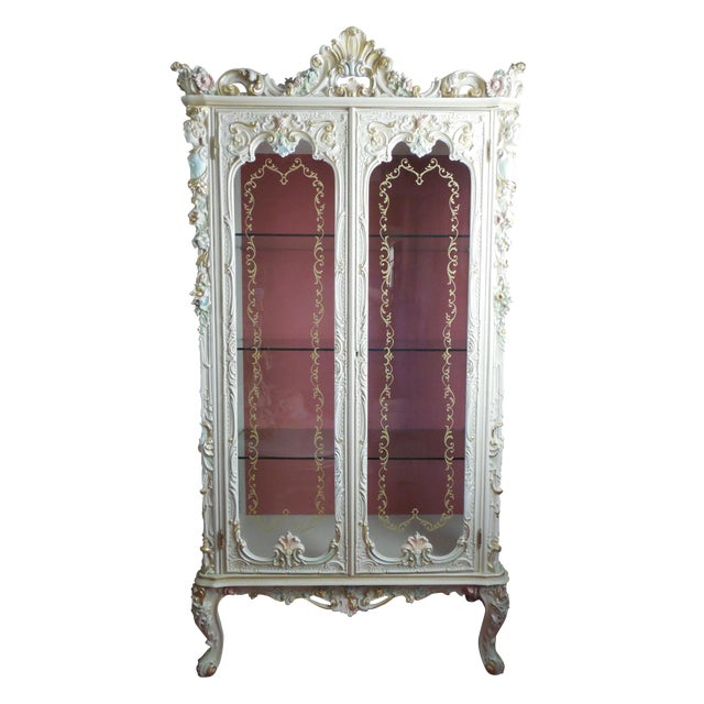 Italian Style Display Cabinet - Image 1 of 11