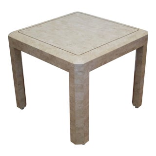 Maitland Smith Tessellated Marble Table