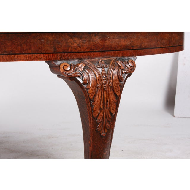 C.1880 English Dining Table - Image 6 of 10