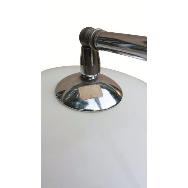 Danish Modern Mid Century Modern Chrome Floor Lamp For Sale - Image 3 of 6