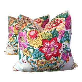 """Portobello Vase 22"""" Pillows -A Pair"""