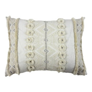 Beacon Hill White Boudoir Pillow For Sale
