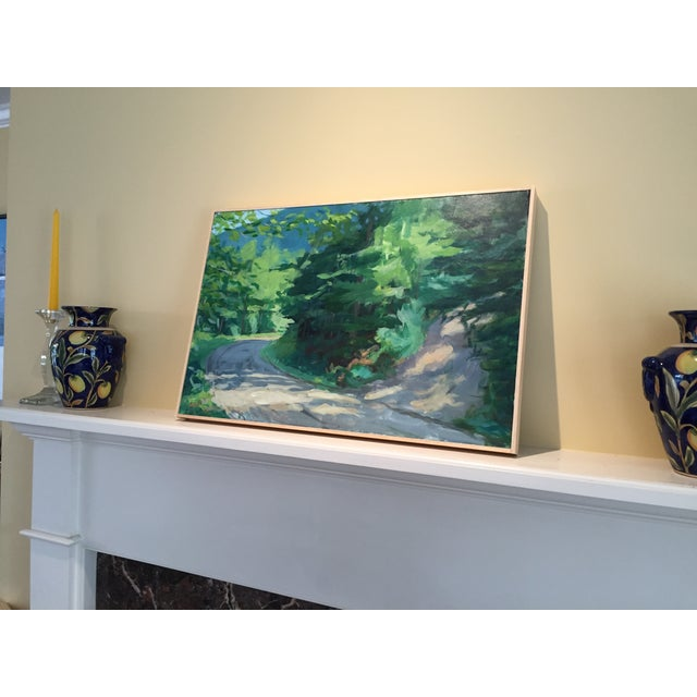 """Contemporary """"Vermont Mountain Road"""" Landscape Painting by Stephen Remick For Sale - Image 3 of 5"""