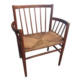 Mid-Century Jorgen Baekmark Arm Chair For Sale