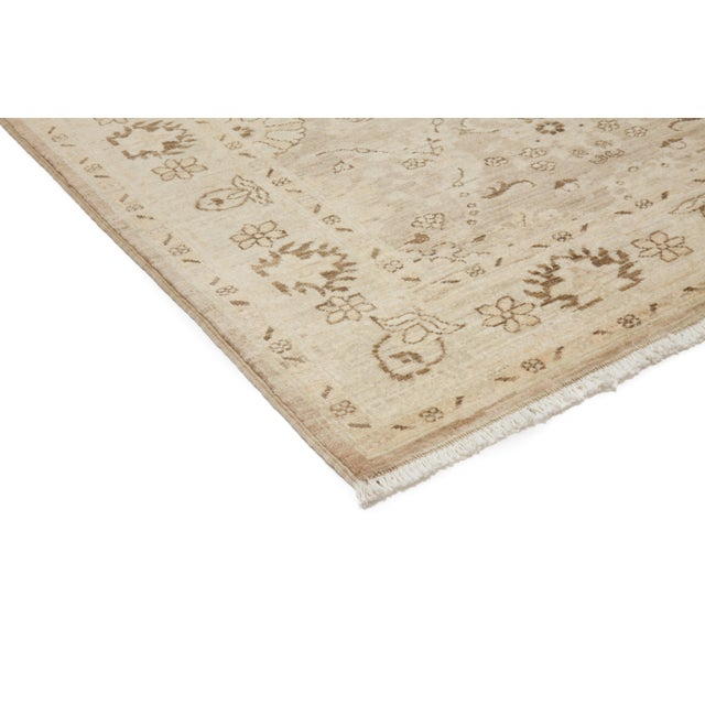 """New Oushak Hand Knotted Area Rug - 5'2"""" x 6'3"""" - Image 2 of 3"""