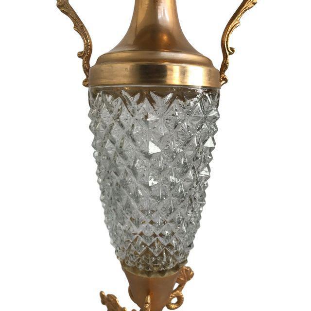 Crystal & Gold Vase - Image 7 of 9