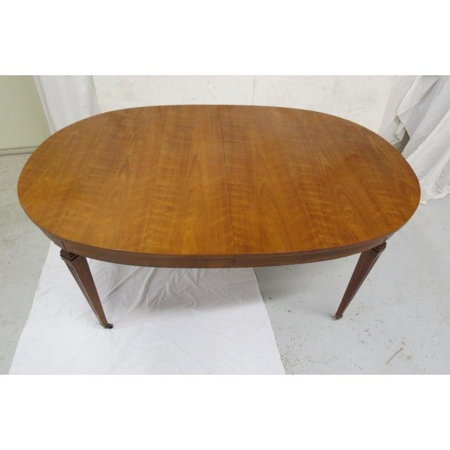 Hollywood Regency Kindel Furniture Extension Dining Table For Sale - Image 3 of 8